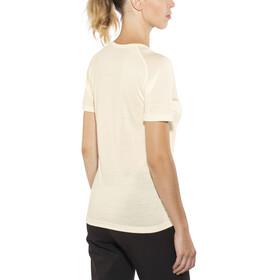 Devold Breeze V-Neck T-Shirt Women Offwhite